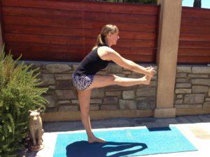 Carly Anderson bikram pose