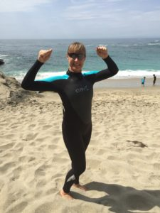 Carly Anderson Wetsuit